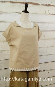 レディースインナーキャミソール服型紙と作り方