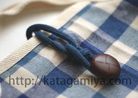 ループ付き上履き入れ型紙(入園・入学アイテム)