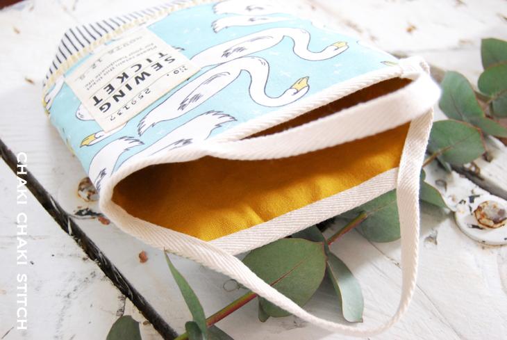 上履き入れ袋型紙(上靴入れ袋型紙)
