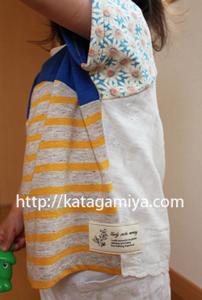 子供服型紙・簡単なTシャツ型紙