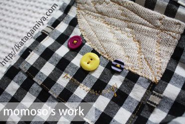 子供服普段着型紙ひざ上・ひざ下パンツ型紙と作り方
