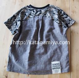 男の子用も作れる子供服半袖ドルマンプルオーバーと簡単な作り方