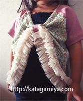 子供服型紙・普段着にぴったりの後ろギャザープル型紙