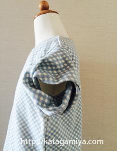 リブフレンチTシャツプルオーバー・子供服型紙