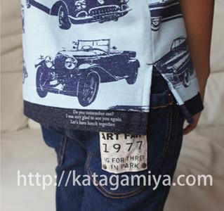普段着にぴったりの半袖&長袖Tシャツ子供服型紙