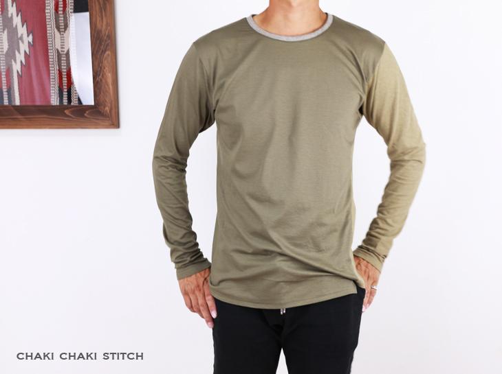 メンズねじれTシャツ型紙販売・半袖・長袖