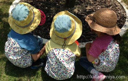 通園・通学に便利な子供服プルオーバーと簡単な作り方
