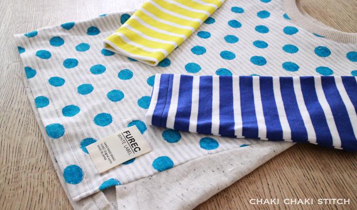 男の子にも女の子にも作りたい簡単な子供服型紙販売・長袖90サイズ
