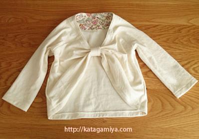 子供服型紙・普段着や入園入学などのフォーマルにも使えるカーデプルオーバー