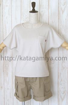 1枚で着られるドルマンTシャツ型紙
