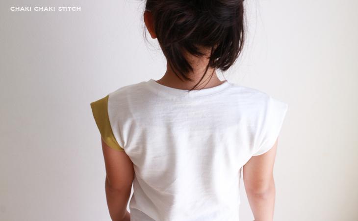 男の子も女の子にも似合うフレンチ袖が簡単に1時間で作れる型紙