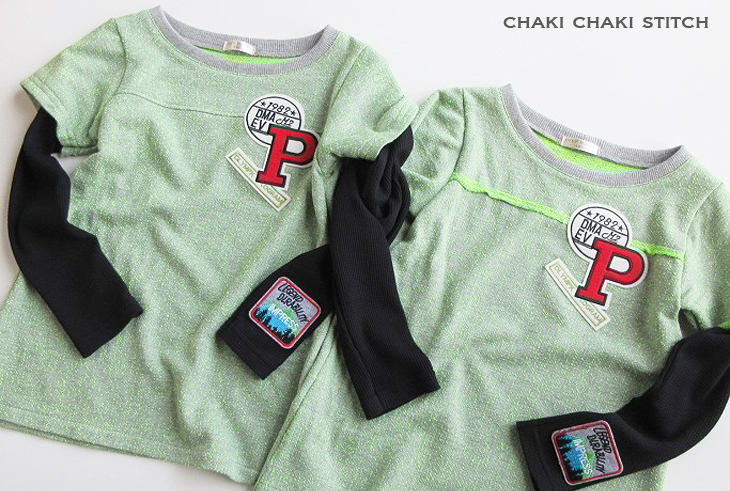 男の子向けTシャツ型紙販売・140長袖
