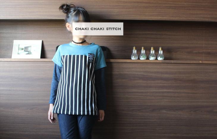 女の子も作れるTシャツ型紙販売・140サイズ長袖