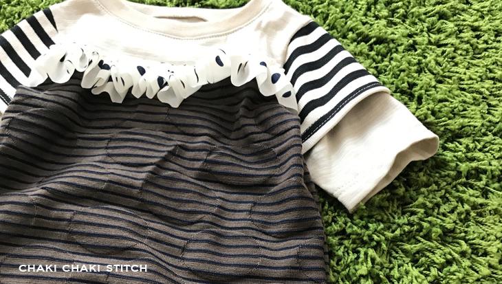女の子も作れるTシャツ型紙販売・100サイズ半袖